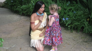 Comparing jewelry with Pocahontas